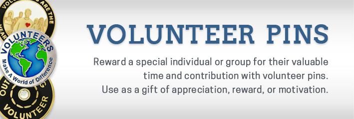 Volunteer Pins