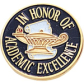 Academic Excellence Awards Pin