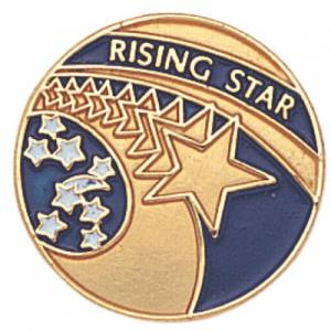 Rising Star Awards Pin