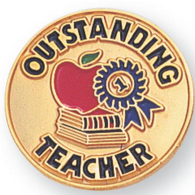 Outstanding Teacher Award Pin