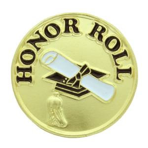 Honor Roll Award Pin