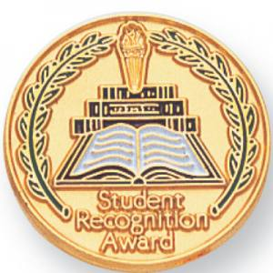 Student Recognition Award Award Pin