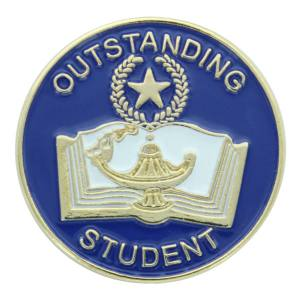 Outstanding Student Award Pin