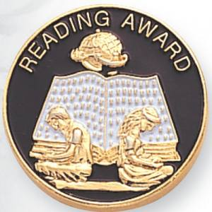 Reading Award Award Pin