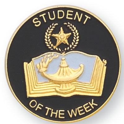 Student of the Week Award Pin