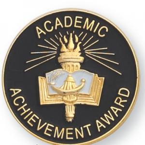 Academic Achievement Award Award Pin