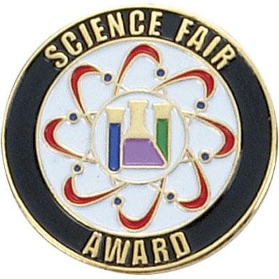 Science Fair Award Award Pin