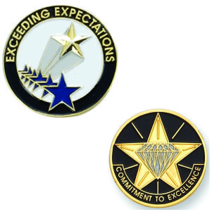 Employee Recognition & Service Pins