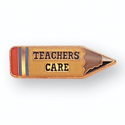Teachers Care Award Pin