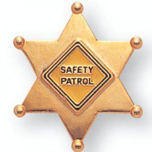 Safety Patrol Award Pin