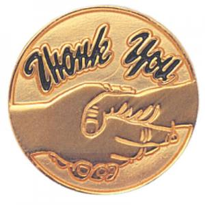 Thank You Award Pin