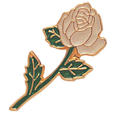 White Rose Award Pin
