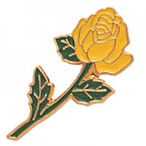 Yellow Rose Award Pin