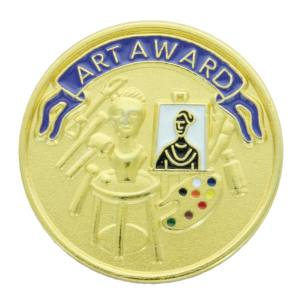Art Award Award Pin