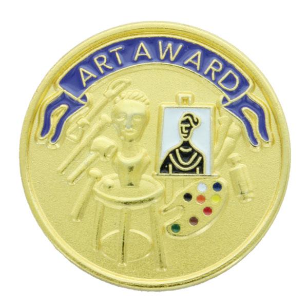 Art Award Award Pin