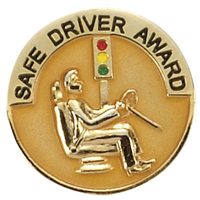 Safe Driver Award Award Pin