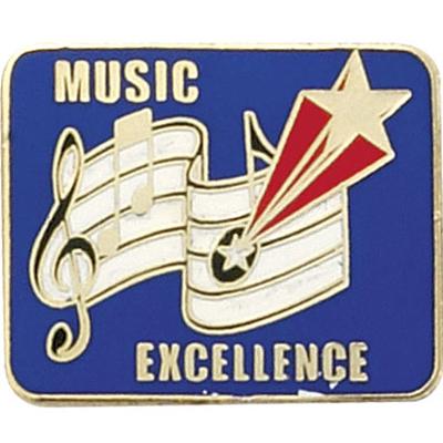 Musical Excellence Award Pin