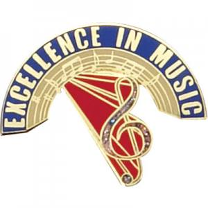 Excellence in Music Award Pin