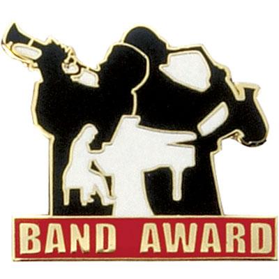 Band Award Award Pin