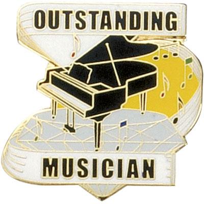 Outstanding Musician Award Pin