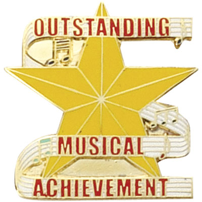 Outstanding Musical Excellence Award Pin