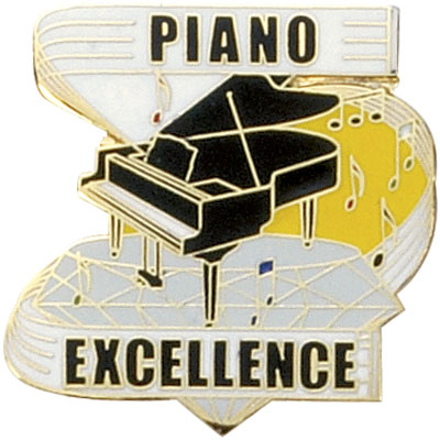 Piano Excellence Award Pin