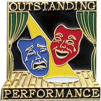 Outstanding Performance Award Pin
