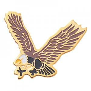 Eagle Mascot Award Pin