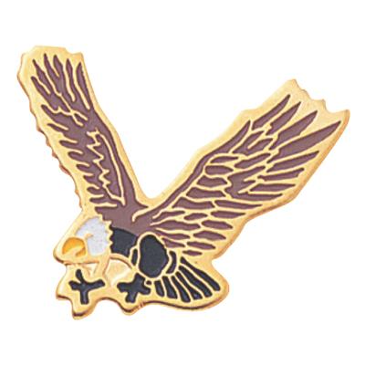 Eagle Mascot Award Pin