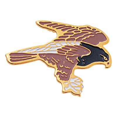 Hawk Mascot Award Pin
