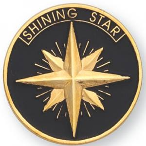 Shining Star Award Pin