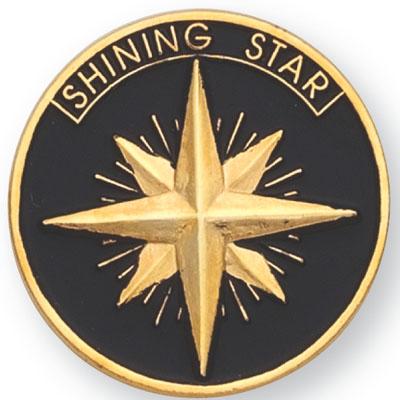 Shining Star Award Pin