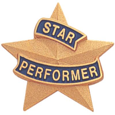 Star Performer Award Pin