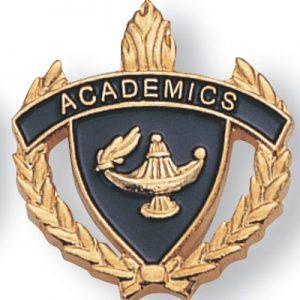 Academics Scholastic Award Pins