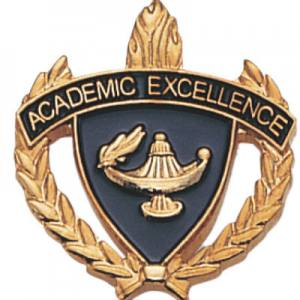 Academic Excellence Scholastic Award Pins