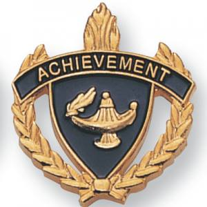 Achievement Scholastic Award Pins