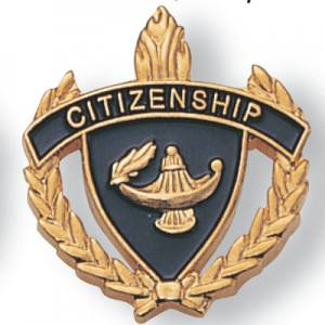 Citizenship Scholastic Award Pins