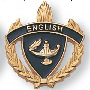 English Scholastic Award Pins