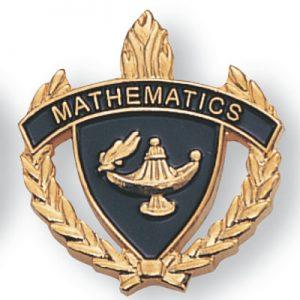 Mathematics Scholastic Award Pins