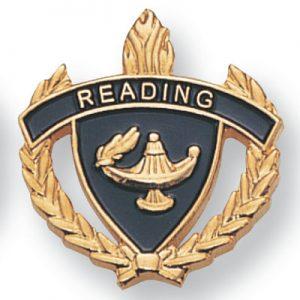 Reading Scholastic Award Pins