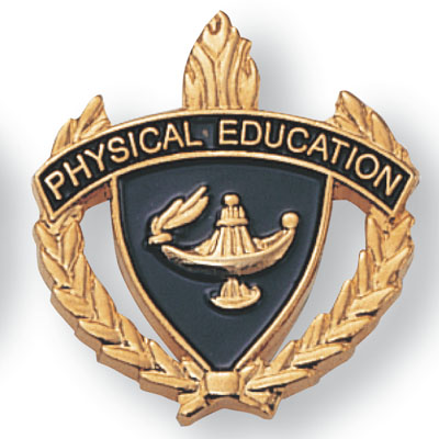 Physical Education Scholastic Award Pins