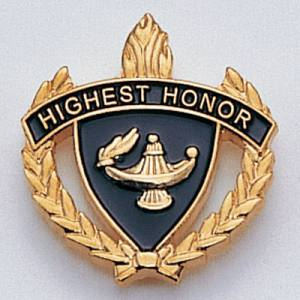 Highest Honor Scholastic Award Pins