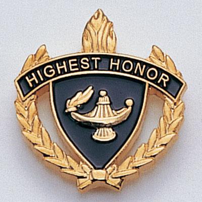 Highest Honor Scholastic Award Pins