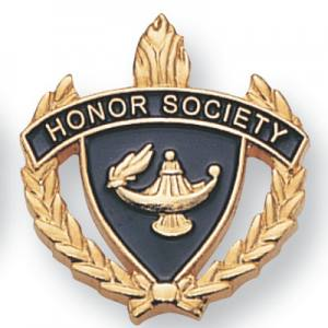 Honor Society Scholastic Award Pins