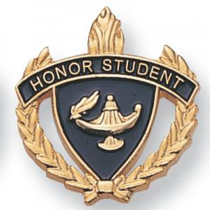 Honor Student Scholastic Award Pins