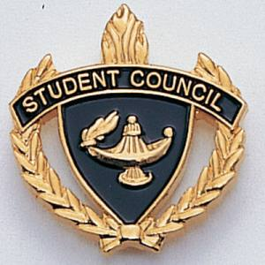 Student Council Scholastic Award Pins