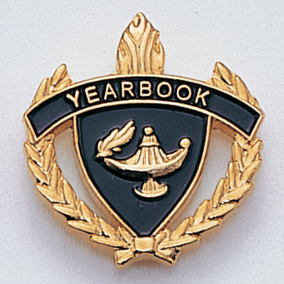 Yearbook Scholastic Award Pins