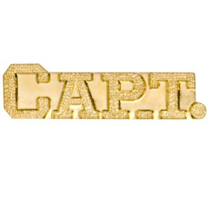 Captain Bar Chenille Pin