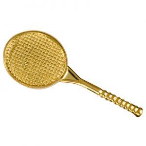 Tennis Racket Chenille Pin