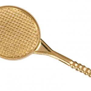 Tennis Racket Chenille Pin